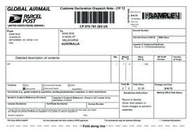 Online Shipping Labels Field Kit New Online International Shipping Labels With Customs Forms