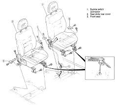 Fig fig 1 front seat mounting found on models covered by this information rear