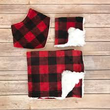 baby shower gift set buffalo plaid baby blanket buffalo check baby blanket buffalo plaid nursery buffalo plaid baby bedding boy
