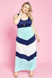 Gozon Size Chart Melina Color Block Maxi Dress Plus Navy Gozon Boutique
