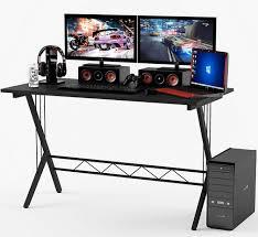 gaming computer desk. Delighful Desk Gaming Desk Table Durable Workstation In Computer O