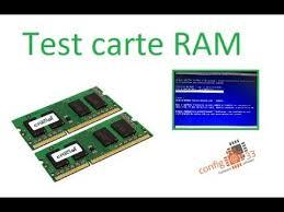 test carte ram you