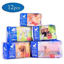 Pet Soft Disposable Female Puppy Dog Diaper,12Pcs,XS Amazon.com : Diaper, 12Pcs