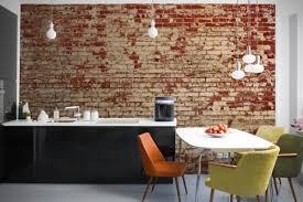 Small Picture Interior Decoys Convincing Brick Wallpaper Ideas Adorable Home