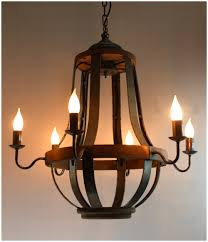 metal and wood chandelier. Iron Strap And Aged Wood Chandelier French Country Vintage Style Metal N