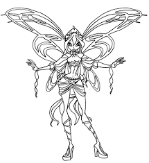 Winx Club Aisha Coloring Pages Sphinx Jerusalem House