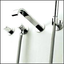 tub faucet with hand shower wall mount bathtub faucet with hand shower charming wall mount tub