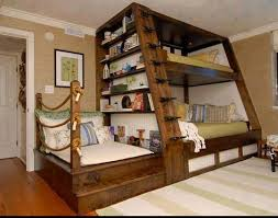cool bunk beds for 4. Awesome 4 Person Bunk Bed. Three People Would Probably Fit Better Though Cool Beds For S