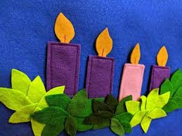 Felt Advent Wreath for Preschoolers Grade School Sunday | Etsy