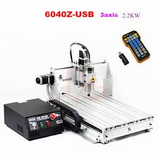 cnc 6040 2 2kw 3 axis hobby desktop mini aluminum cnc router machine with mach3 remote control
