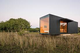 Modern Prefab Cabin Minimod Modern Prefab Living Prefab Cabins