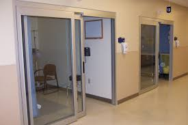 5900 series trackless icu ccu manual sliding door systems