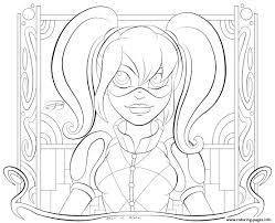 Small Picture Kid Hd Harley Quinn Coloring Pages Printable