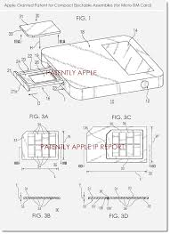 3 apple granted patent for pact ejectable assemblies micro sim card