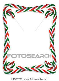christmas candy border.  Candy Stock Illustration  Christmas Candy Cane Border Fotosearch Search Clip  Art Drawings For Border