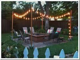 diy outdoor patio string lights