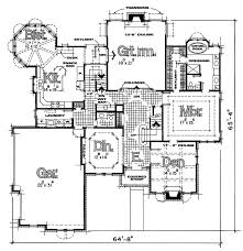 castle house plans. European House Plan First Floor - 026D-0353 | Plans And More Castle T