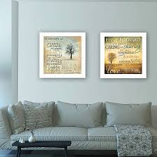 living trendy decor 4u meaning 2 piece framed graphic art print set unique framed wall art