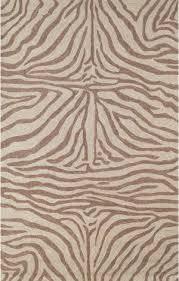 trans ocean ravella zebra 2033 19 brown area rug