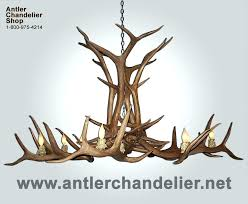 authentic antler chandeliers real