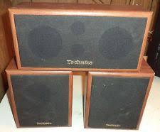 vintage technics speakers. technics sb-s35 \u0026 sb-c55 vintage home audio satellite bookshelf speakers