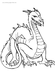 images of dragons to color.  Images Dragon Color Page Fantasy Medieval Coloring Pages Plate  Sheetprintable Picture Throughout Images Of Dragons To Color E