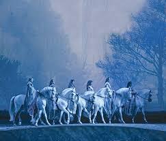 seven white horses wallpaper gzsihai