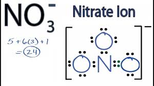 Nitrate Ion Lewis Structure How To Draw The Lewis Structure For Nitrate Ion