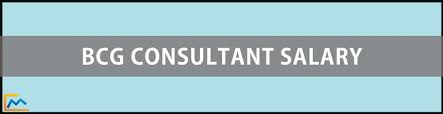 bcg consultant salary the management