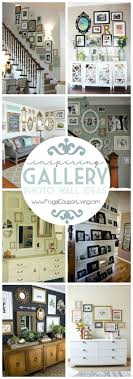 picture wall ideas for living room best photo frames on how to decorate walls with family