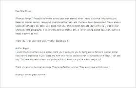 Free Sample Thank You Letter Stunning Thank You Letter To Teacher Erkaljonathandedecker
