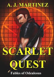 An Interview with AJ Martinez, author of Scarlet Quest -