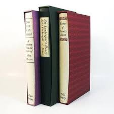 folio society set no man is an island essays francis bacon  image is loading folio society set 3 no man is an