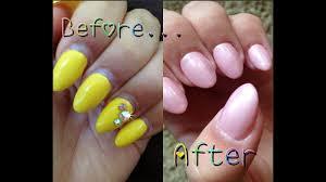 acrylic fill polish change tutorial you