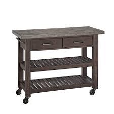 kitchen cart. amazoncom home styles concrete chic kitchen cart islands u0026 carts a