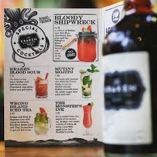 Pour in 45ml (1 1/2 shots) of the kraken spiced rum and top with ginger beer. Kraken Rum Uk On Twitter An Entire Menu Of Kraken Cocktails Because At Halloween Black Goes W Everything At Revolutionbars Across The Uk Https T Co 964ham1fjt