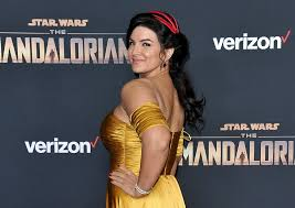 Mandalorian' star Gina Carano out at Lucasfilm after 'abhorrent' social  media posts