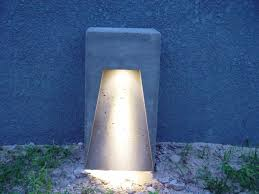 in concrete lighting. introduction concrete lighting in