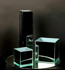 large square glass vases rectangular glass vases tall mirrored glass vase cube mirrored glass