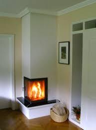 Kachelofen Mit Ecktür Feuerschale Kamin Wohnzimmer