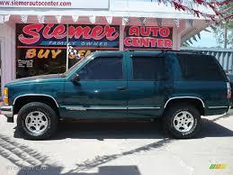 1998 Emerald Green Metallic Chevrolet Tahoe LT 4x4 #9474769 ...