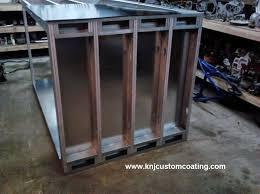 powder coating oven floor frame