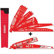 diablo sawzall blades. diablo 14-piece bi-metal recip set with 2 free carbide blades sawzall p