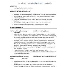 Dental Assistant Objective Resume Simple Orthodontic Assistant ...