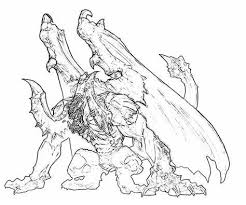 Fallen Angel Coloring Pages Hasshecom