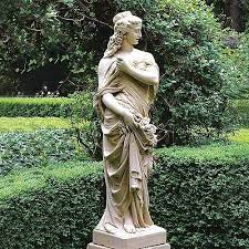 marble lady garden sculptures for