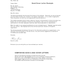 Best Cover Letter Format Ideas Of Good Resume Examples Images How