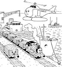 Thomas De Stoom Locomotief Kleurplaten Kleurplatenpaginanl