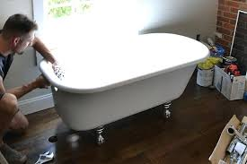 how to re a cast iron tub re cast iron tub how to remove rust from