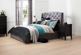 light grey bedroom furniture. CRAWFORD IM-5733 DB BED W/HOLLYWOOD DRAWER BASE (LIGHT GREY) Image Light Grey Bedroom Furniture E